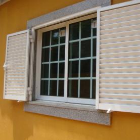 Aluminum alloy shutters