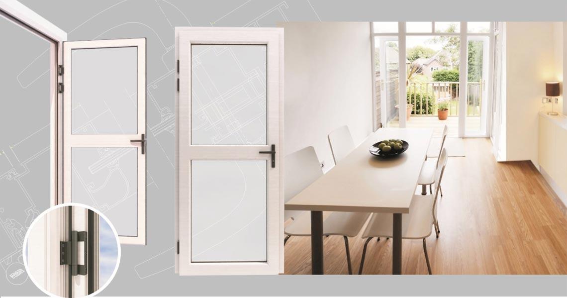 JM55 series vertical hinged doors