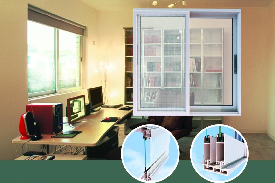 JM73 series sliding windows