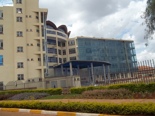 Library of Kenyatta University Back