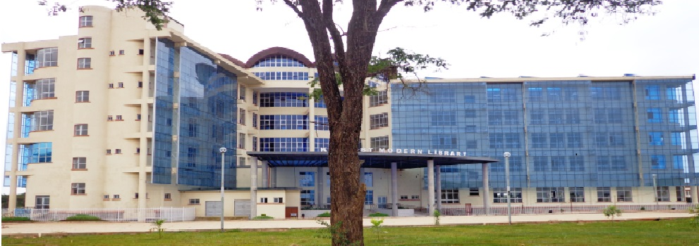 Library of Kenyatta University back alternative