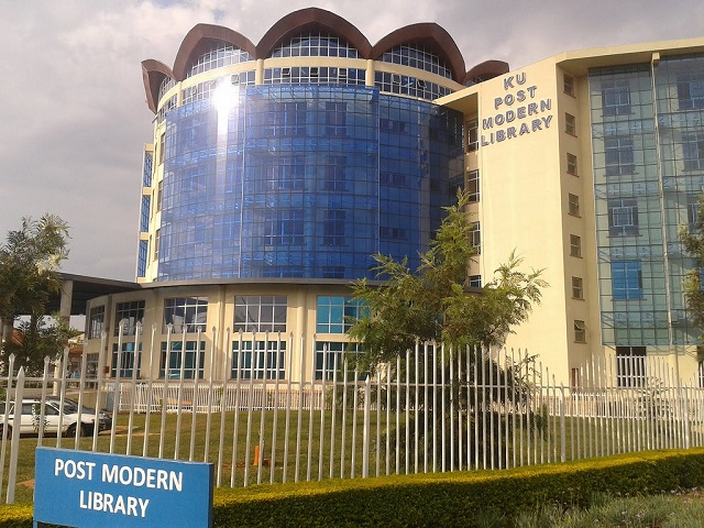 Library of Kenyatta University front