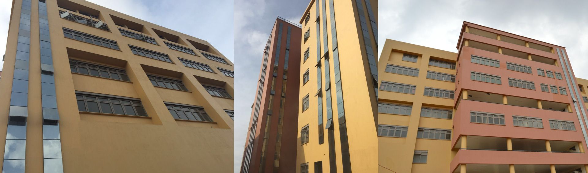Aluminium products for commercial buildings
